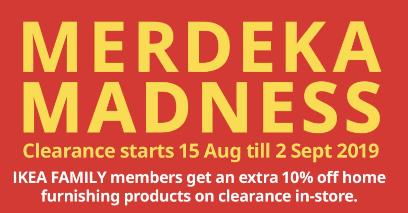 Ikea Merdeka madness sale