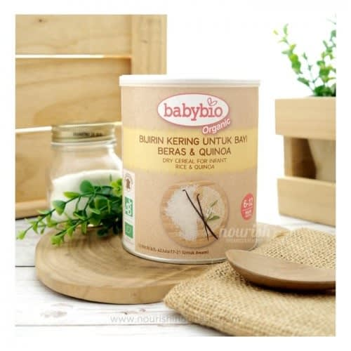Best organic baby cereal with quinoa and rice