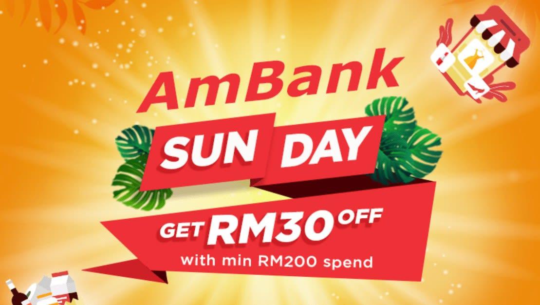 Shopee Bank of The Day Shopee Promo Code - AmBank