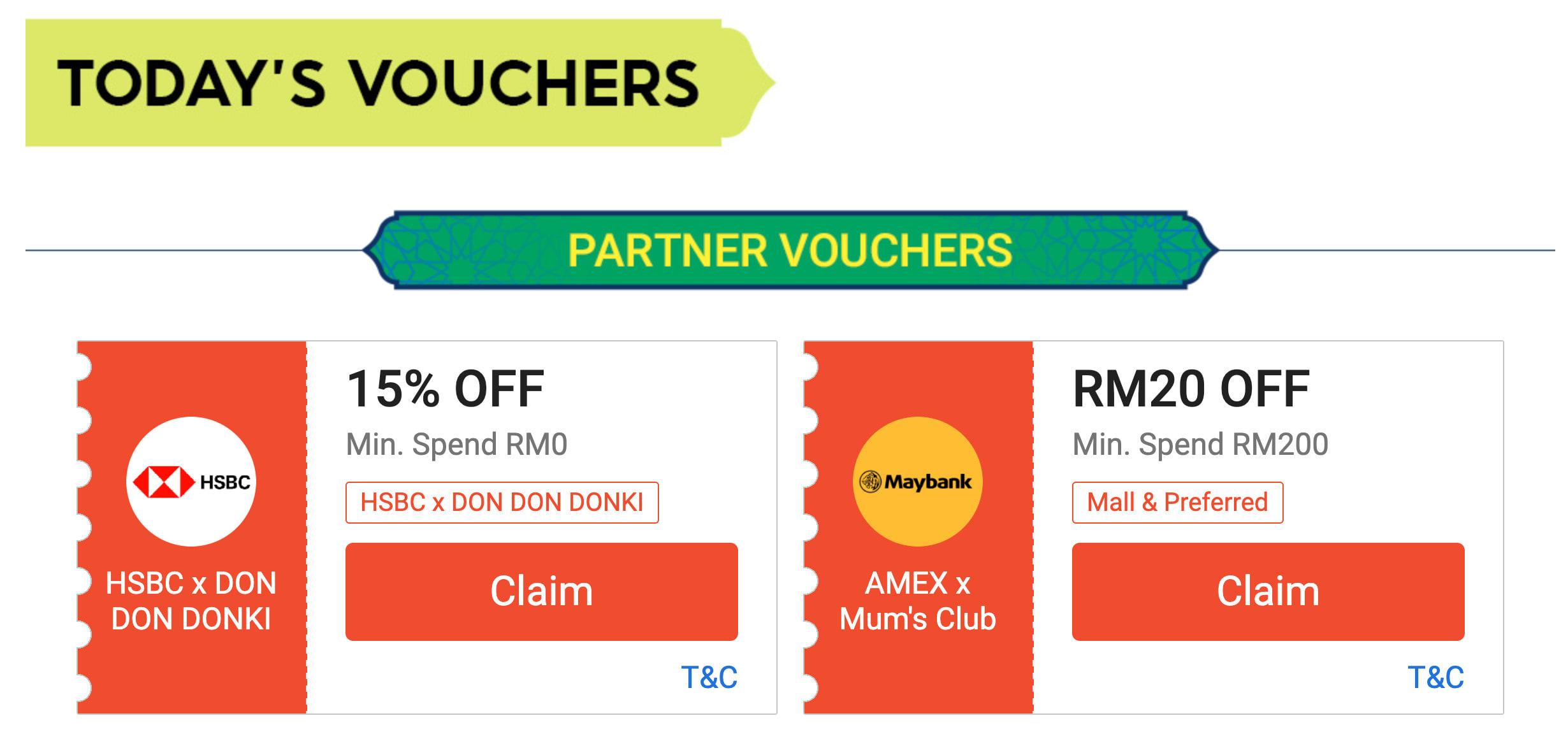 shopee raya sale malaysia daily vouchers