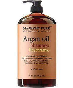 Best sulfate-free hair loss shampoo with argan oil