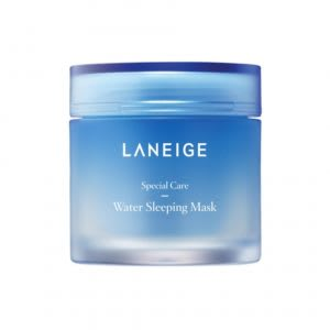 Overnight face mask for dry skin