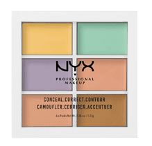 Concealer corrector – orange, yellow, & green concealer