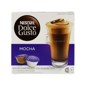 Best Nescafe Dolce Gusto Mocha 216g Malaysia Price Reviews In