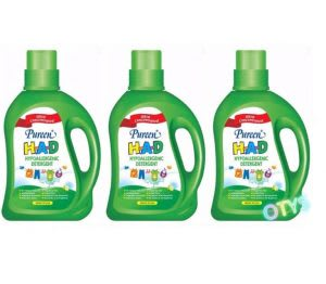 Best chemical-free, eco-friendly and hypoallergenic detergent