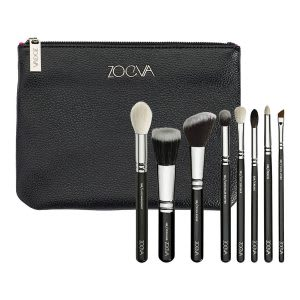 Makeup brush set for beginners