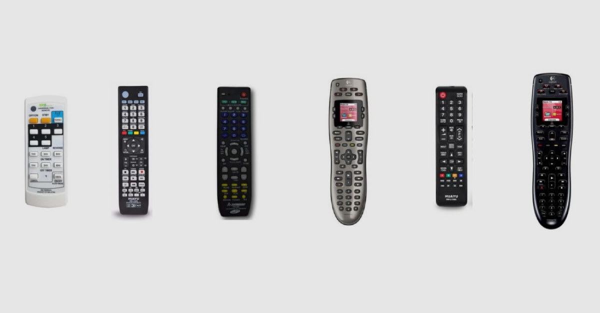 Best Universal Remote 2019 8 Best Universal Remote Controls in Malaysia 2019   For Fan, Aircond
