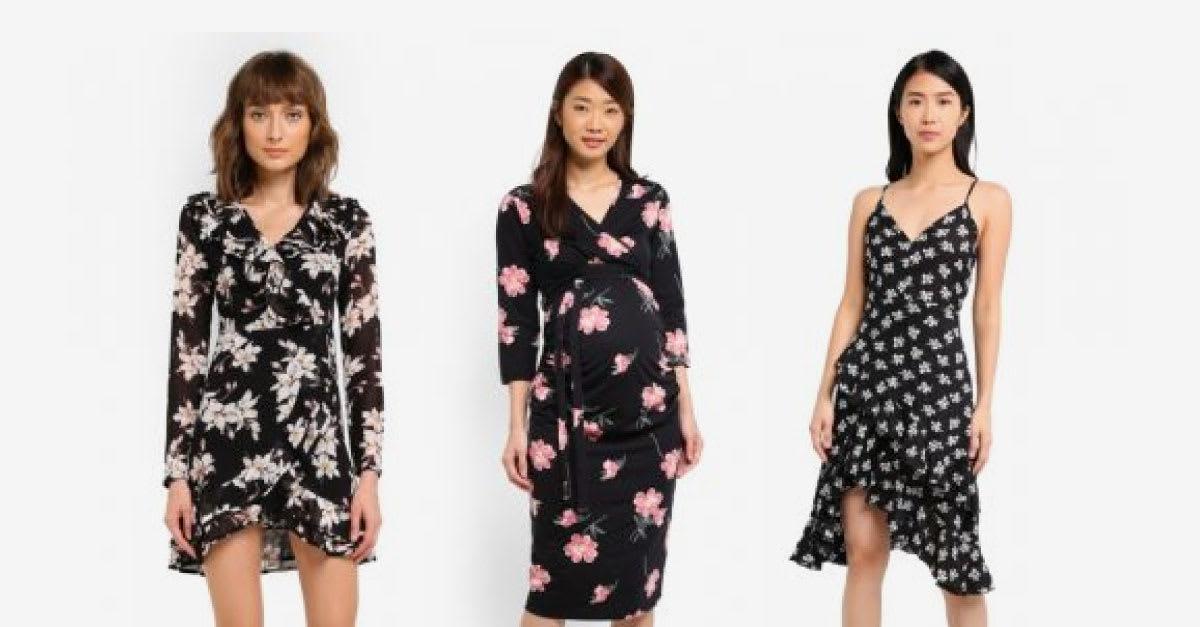 1e6375611cbd6 17 Best Wrap Dresses in Malaysia 2019 - Buy Ladies Wrap Dress Online