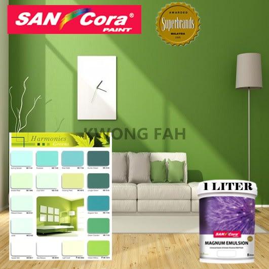 Sancora Paints Interior Exterior Magnum Emulsion Green 1l Harga Review Ulasan Terbaik Di Malaysia 2021