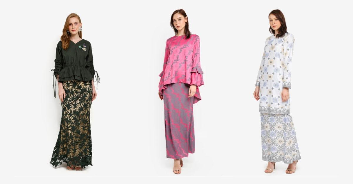 15 Trend Baju Hari Raya Wanita Terkini di Malaysia 2019  ProductNation