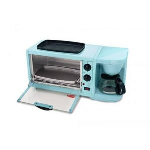 3 in 1 toaster oven with griddle and coffee maker combo