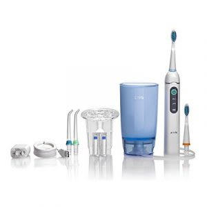 Best electric toothbrush with water jet and flosser