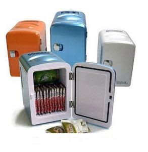 4L portable mini fridge for office