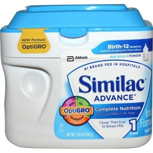 Best baby formula with iron