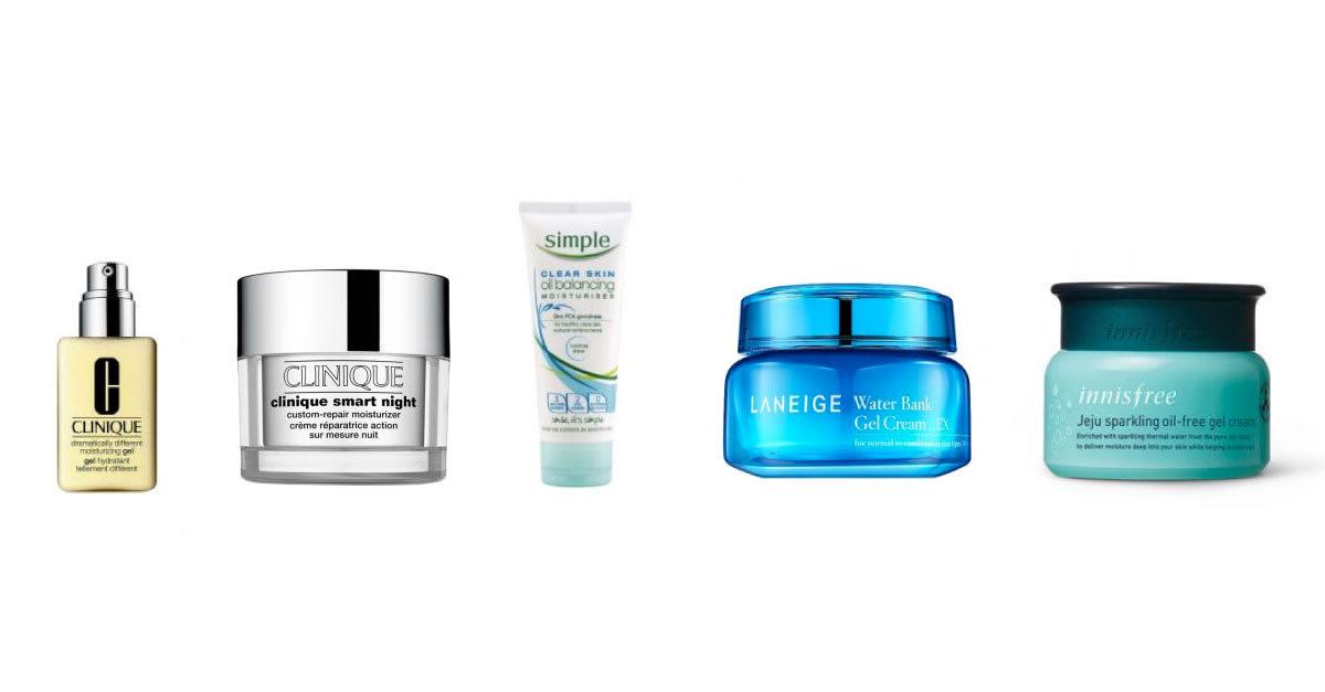 gel moisturizer for oily skin