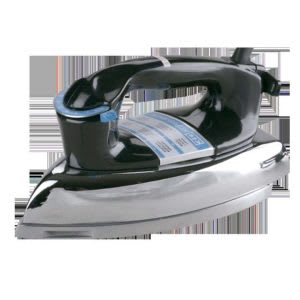 Clothes iron without steam