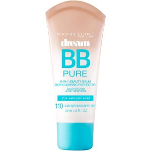 Best BB cream for oily skin, blackheads and acne prone skin - recommended for daily use.