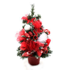 Christmas decorations for small spaces and apartments