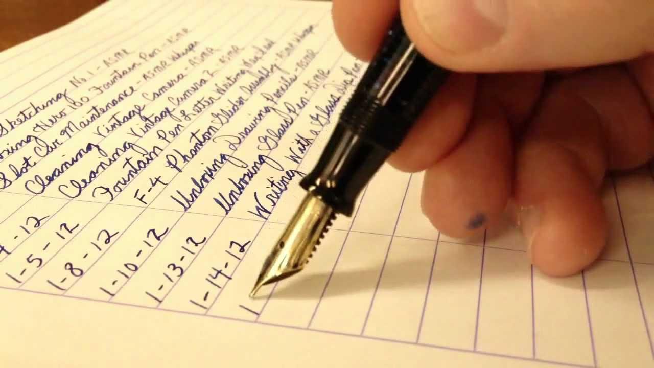 Mata pulpen dan jenis tinta