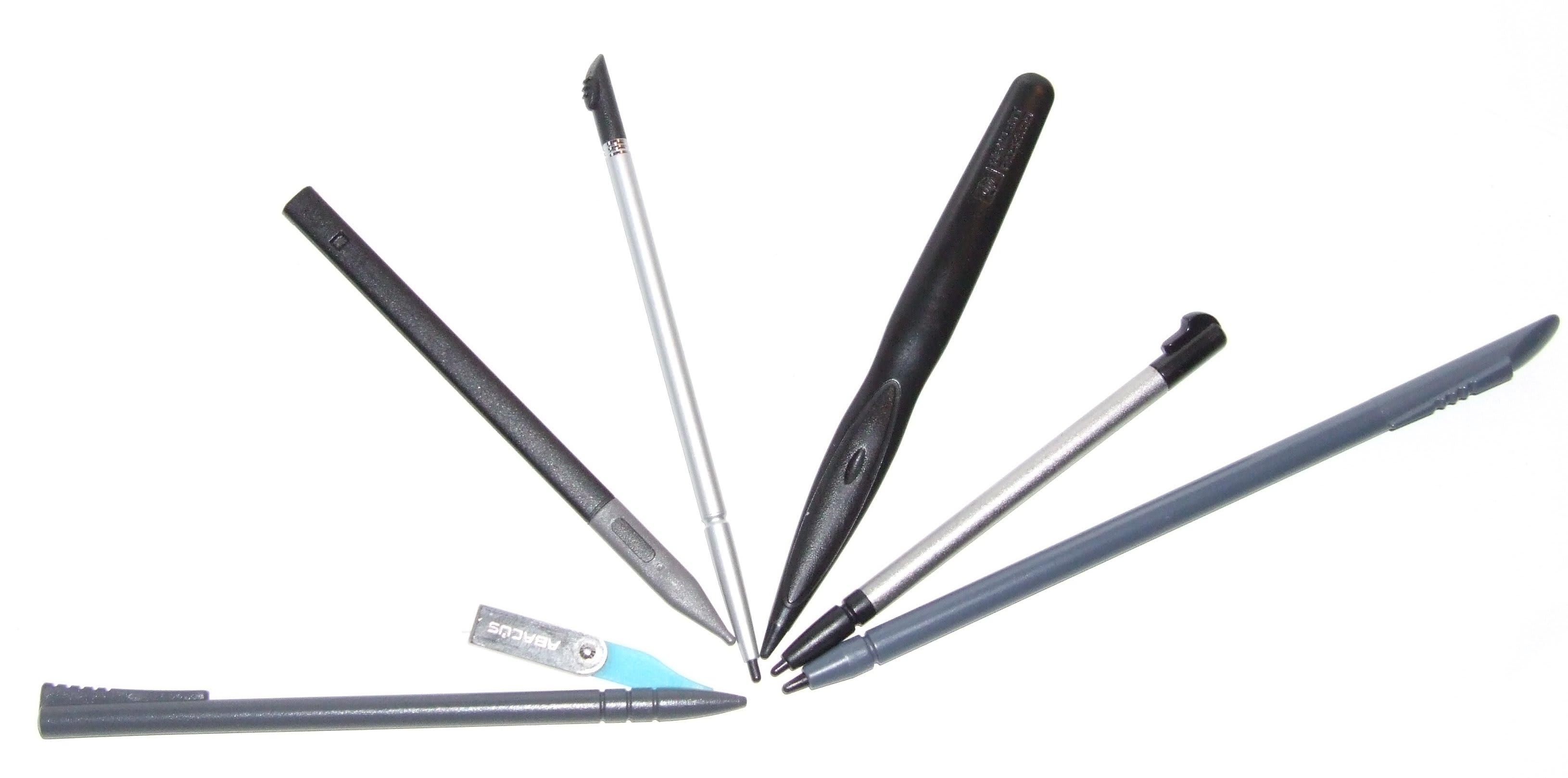 Perhatikan ujung stylus pen
