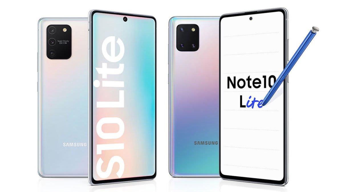 Samsung Galaxy S10 Lite Note 10 Lite