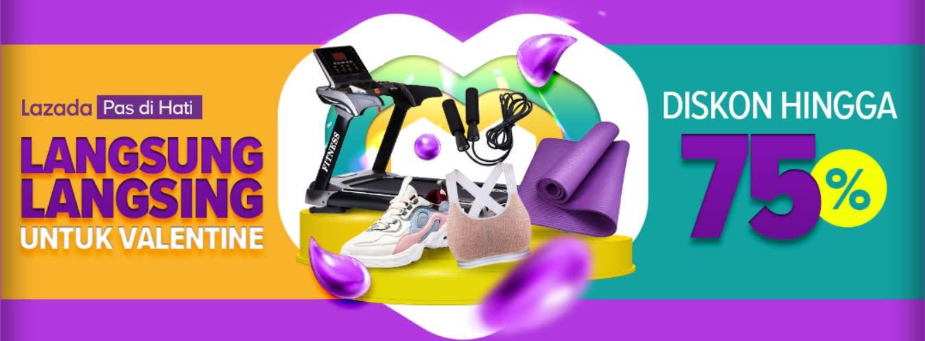 Lazada – Pas di Hati, Langsung Langsing untuk Valentine