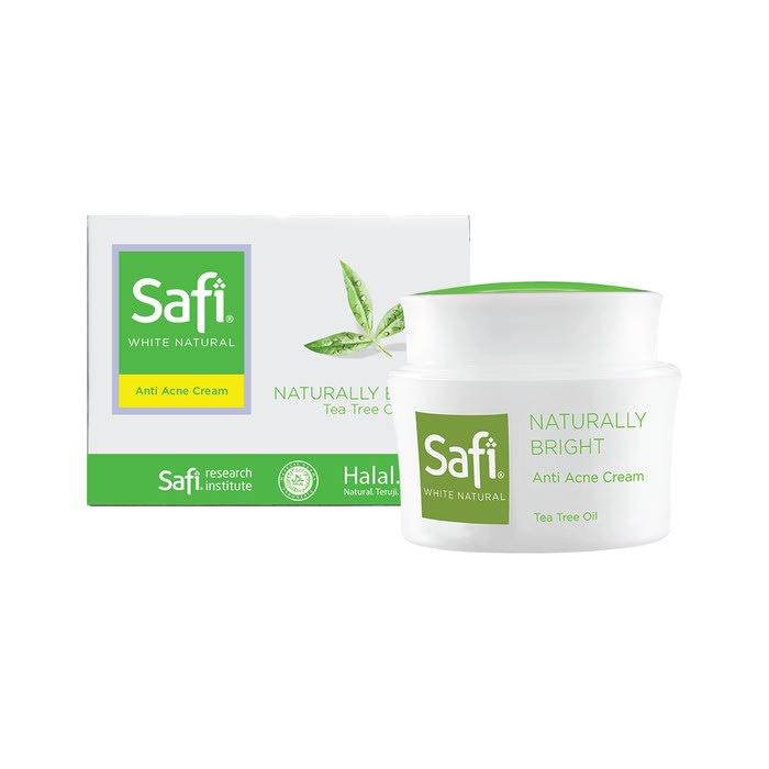 Safi White Natural Naturally Bright Anti Acne Cream Tea Tree Oil 20 Gr Harga Review Ulasan Terbaik Di Indonesia 2020