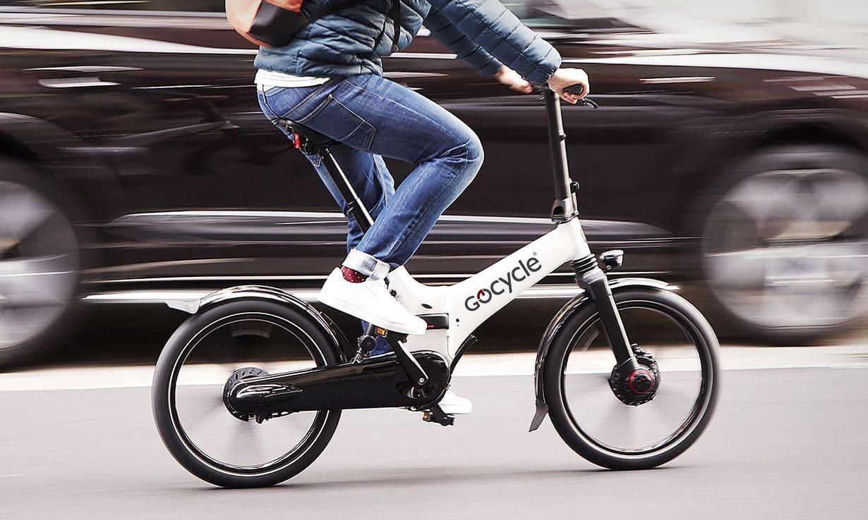 Sepeda lipat elektrik jenis sepeda lipat
