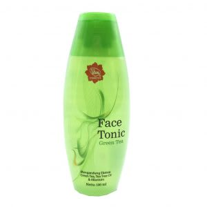 Viva Face Tonic Green Tea 100 Ml Harga Review Ulasan Terbaik