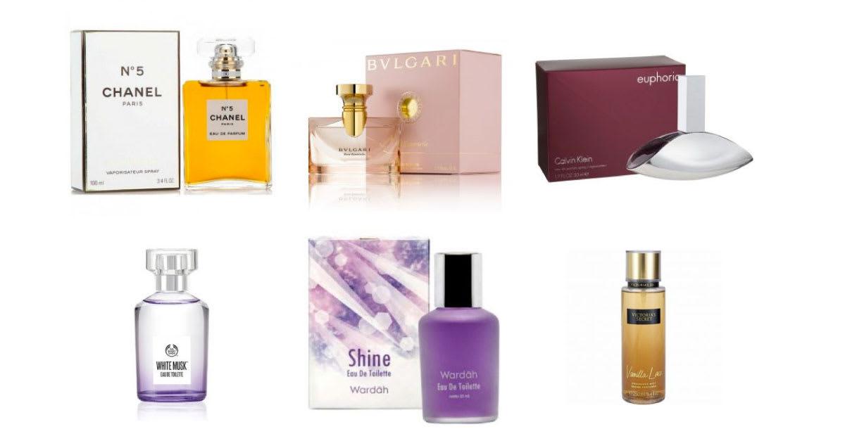 Daftar 7 Parfum Wanita Terbaik Di Indonesia 2019