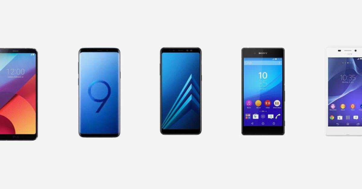 7 Hp Tahan Air Waterproof Terbaik Di Indonesia 2019 Samsung Sony